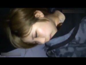 【スマホ撮影】金髪ショートの色白彼女とのスマホハメ撮り動画。